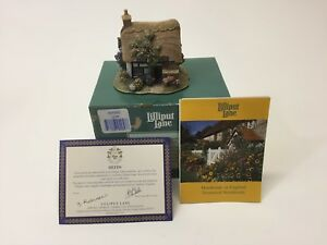 HTF-Lilliput-Lane-The-Poppies-The-British-Collection-with-box-amp-Deeds-L2058