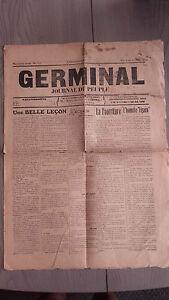 1914-JOURNAL-DU-PEUPLE-GERMINAL-N-372-DU-14-AU-20-MARS-A-AMIENS-2-PAGES-ABE