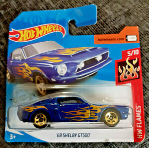 Mattel-Hot-Wheels-039-68-Shelby-GT500-Totalmente-Nuevo-En-Caja-Sellada