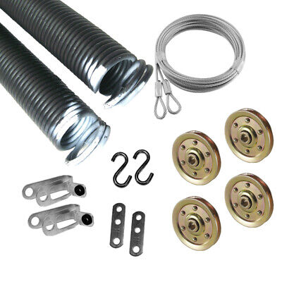 Garage Door 3 Inch Pulley Strap w//Containment Cable Offset and Nylon Bushing