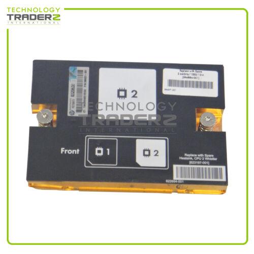 622654-001 HP ProLiant Blade BL490c G7 Heatsink 623197-001 Pulled *