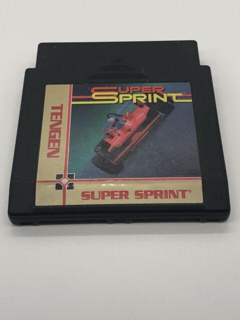 Super Sprint - Tengen NES Nintendo Game