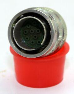 Lot-of-17-off-12-way-plessey-plug-with-pins-GA3