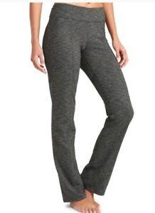 Athleta-Womens-Medium-Heathered-Gray-Mid-Rise-Bootcut-Yoga-Revelation-Pants