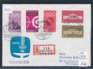 10257) Spécial R-mot Aachen Olympia-bm-exposition Sou Sst 20.7.70-afficher Le Titre D'origine Bon Pour L'éNergie Et La Rate