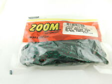 New ZOOM BABY BRUSH HOG 12 PACK BLACK EMERALD