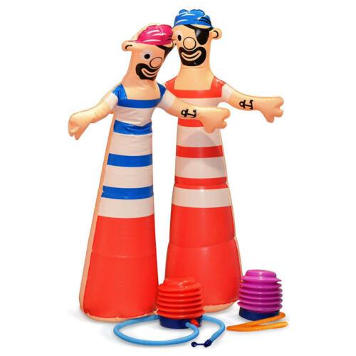 Pompe Up Pirates est une poussée de pompage Race To Blow Up The Pirates!