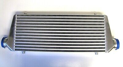 "Montaje frontal Intercooler Kit FMIC 63mm 2.5/"" Mangueras Azul 550x230x65 Core HD Pinzas"