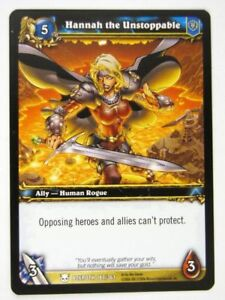 WoW-World-of-Warcraft-Cards-HANNAH-THE-UNSTOPPABLE-187-361-played