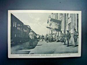 Postkarte-Kowel-Bahnhof-Feldpost-1917