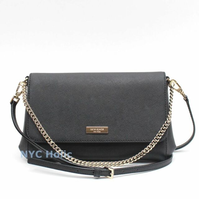Kate Spade Black Newbury Lane Greer Crossbody Leather Bag Wkru3522