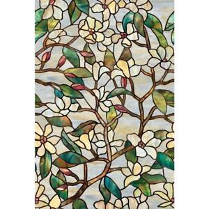 Artscape 24 In X 36 In Summer Magnolia Decorative Window Film 01 0142 664393001428 Ebay
