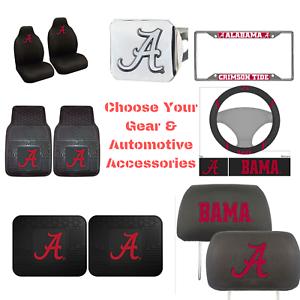 NCAA-Alabama-Crimson-Choose-Your-Gear-Automotive-Accessories-Official-Licensed