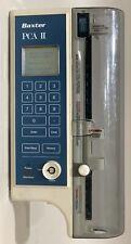 Baxter Pca Ii Pca Ii Pca 2 Syringe Pca Pump Software Version 36 Powers On