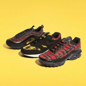 Nike Wmns Tartan Pack Womens Air Max 1   97   Plus Running Shoes ... 0ef009796
