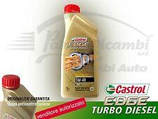 OLIO MOTORE CASTROL EDGE TURBO DIESEL 5W-40 TITANIUM FST 1 litro