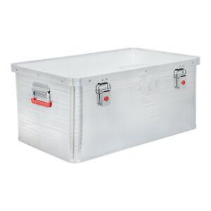 STIER-Alubox-Aluminiumbox-85L-Staub-und-spritzwasserresistent-mit-Gummidichtung