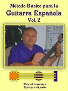 100% Vrai Grönholm Guitarra Vol. 2 Par Quique Ayala-afficher Le Titre D'origine Blanc De Jade