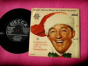 image is loading bing crosby general electric wishes you a merry - Bing Crosby I Wish You A Merry Christmas