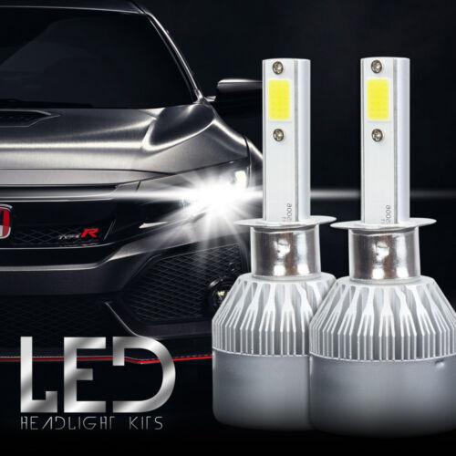 H1 6000K Ice 8000LM High Power CREE LED Headlight Bulbs Kit High Low Beam