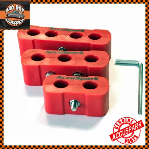 10 mm Accuspark ® Classic Car HT Ignition Leads Wire séparateurs diviseurs 8 mm