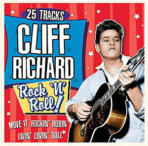 Cliff-Richard-25-Greatest-Rock-039-N-039-Roll-Hits-CD-BRAND-NEW-SEALED-BEST-OF