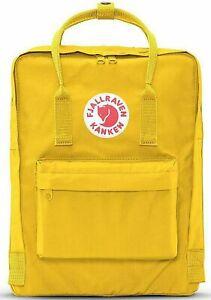 Data wydania: klasyczny 100% jakości Fjallraven Kanken Backpack 16l Warm Yellow F23510