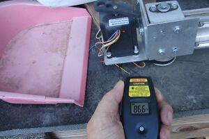 Stepper-servo-motor-infrared-non-contact-temperature-monitor