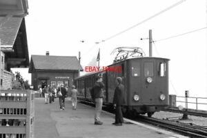 PHOTO-BASEL-TRAIN-1988-SPB-ALPENGARTEN-LOCO-AND-TRAIN