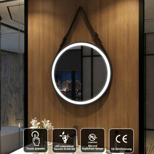 Badspiegel Led Touch Mit Beleuchtung Wandspiegel Rund 60 Cm