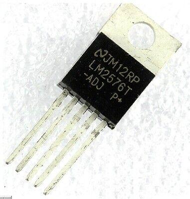 10PCS LM2576T-ADJ LM2576 IC REG BUCK adjustable 3A TO220-5 NEW