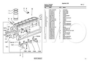deutz fahr agrotron series parts catalogue original manual parts