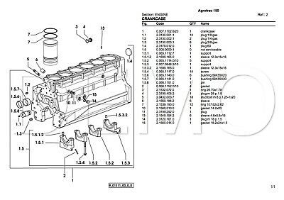 Deutz-fahr Agrotron Series Parts Catalogue Parts Catalog To Adopt Advanced Technology Original Manual pdf