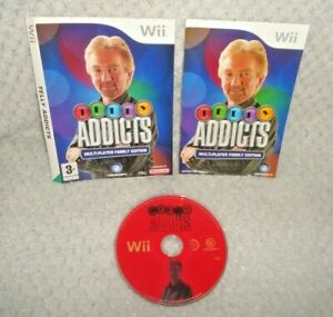 Telly Addicts Nintendo Wii Game DISC, MANUAL & SLEEVE ONLY