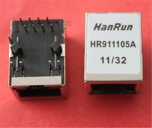 10Pcs Hanrun HR911105 HR911105A RJ45 Network Transformer US Stock b