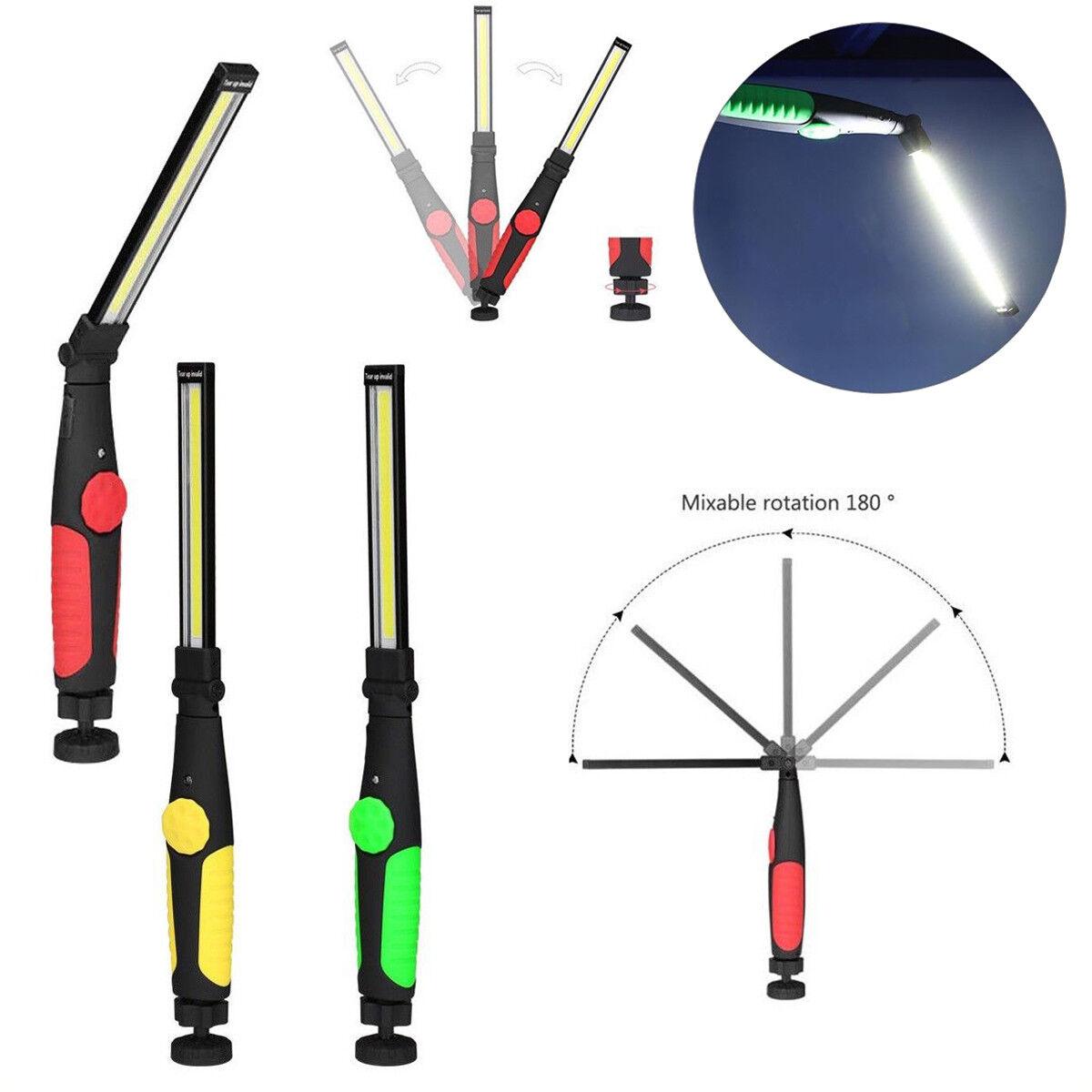 Campeggio Casa e Uso di Emergenza Lampada Portatile con Base Magnetica 6000K Luce del Giorno per Auto Klarlight Lampada da Lavoro Ultra Luminoso USB Ricaricabile COB Lampade di Ispezione