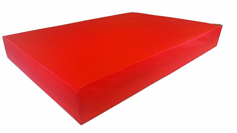 KosiPad Deluxe Gym Landing Crash Mat, Play,Nursery,Training Safe,  Large Red