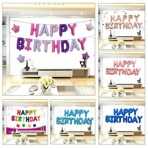 Self-Inflating-Happy-Birthday-Banner-Balloon-MULTI-16-034-inch-Letters-Foil-Ballons