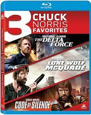 THE DELTA FORCE /LONE WOLF McQUADE /CODE OF SILENCE-  Blu Ray -  Region free