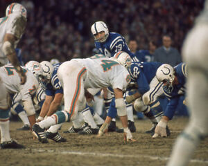 Baltimore-Colts-JOHNNY-UNITAS-Glossy-8x10-Photo-NFL-Football-Print-Poster