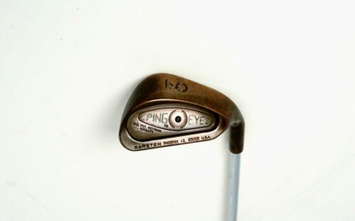 Ping Eye 2 Black Dot BeCu Beryllium Copper 9 Iron Stiff Steel Shaft Golfschläger