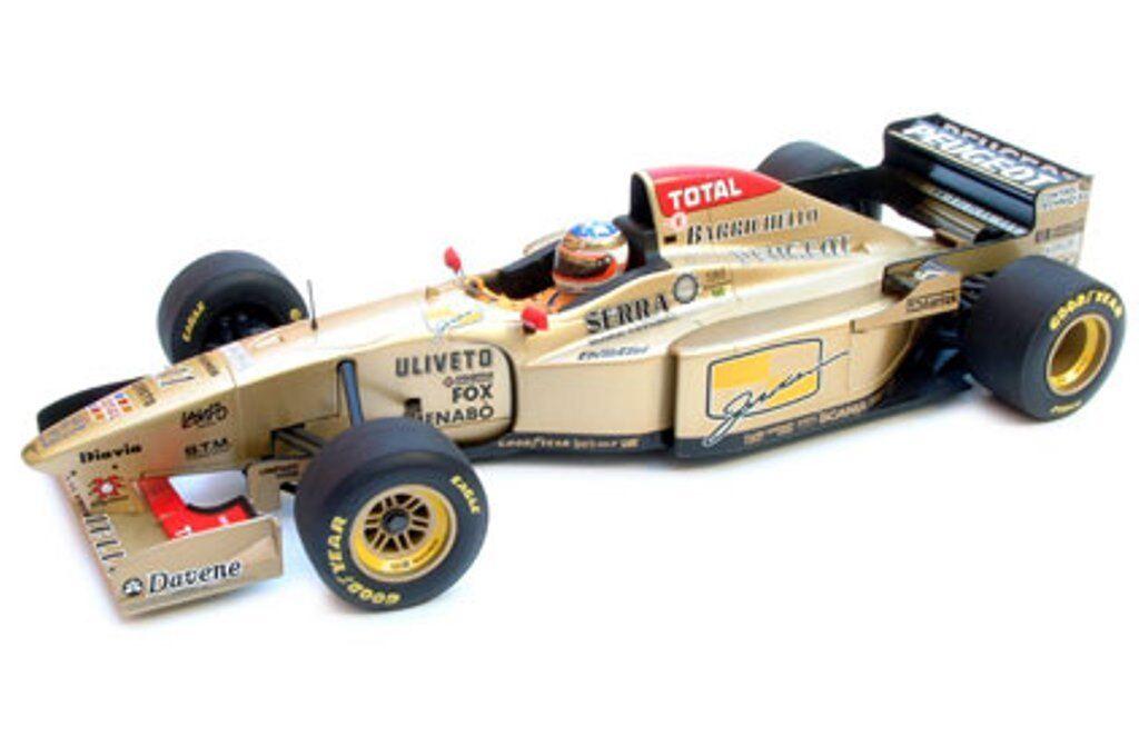 Minichamps 1995 - 1998 jordan F1 modèle voitures de course hill barrichello brundle 1 43rd