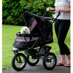 Pet-Gear-Stroller-Rose-039-NV-Jogging-NoZip-w-Weather-Cover-up-to-70-lbs