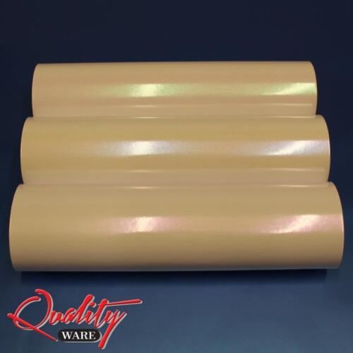 Pearlescent Pearl Gloss Ivory White to Blue/Purple/Green Vinyl Car Wrap Sticker