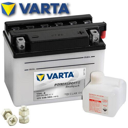 FP Batterie HONDA px50 MS ab06s Bj 1984 VARTA yb4l-b