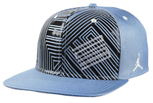 3912052d883aaf Nike Air Jordan Retro 11 Legend Blue Snapback Hat jumpman basketball ...