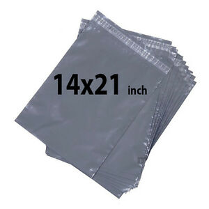 STRONG GREY MAILING POST MAIL POSTAGE BAGS POLY POSTAL SELF SEAL ALL SIZES