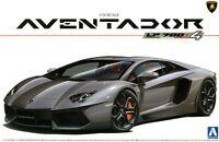 Aoshima 01424 1/24 Scale Model Super Car Kit Lamborghini Aventador LP700-4 Coupe