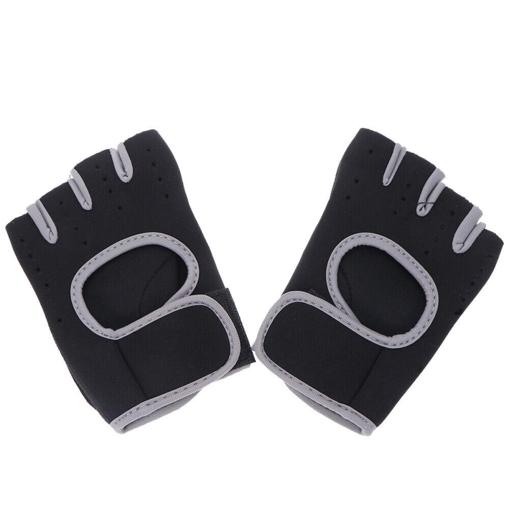 1 Pair Sports Non-slip Gloves Bodybuilding Dumbbell Fitness Barbell Gym Gloves