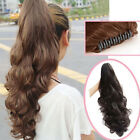 5 Color For Choose Stylish Long Wavy Curly Ponytail Hairpiece Hair Extensions